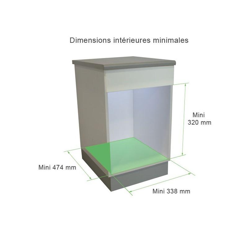 poubelle sous vier cuisine 30 litres. Black Bedroom Furniture Sets. Home Design Ideas
