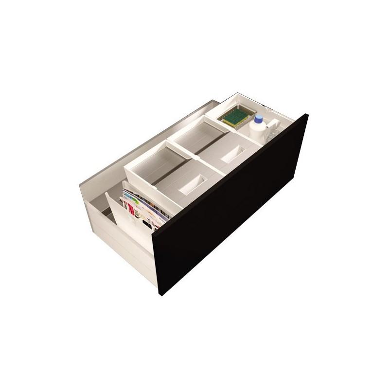 Poubelle pour tiroir 2 bacs 32 litres - Tiroir poubelle cuisine ...