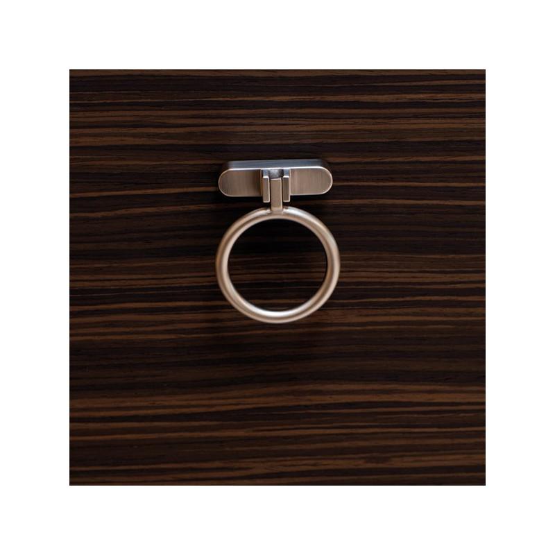 poign e de meuble look inox treasure. Black Bedroom Furniture Sets. Home Design Ideas