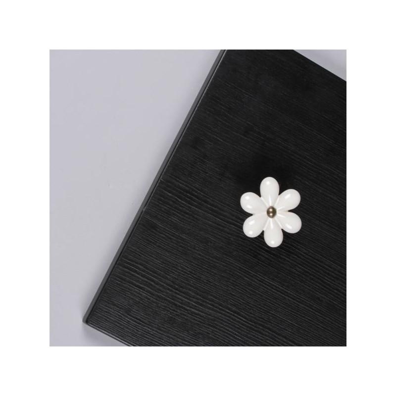 bouton porcelaine fleur. Black Bedroom Furniture Sets. Home Design Ideas