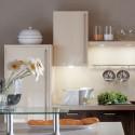 Poignée de meuble cuisine look inox tube 14