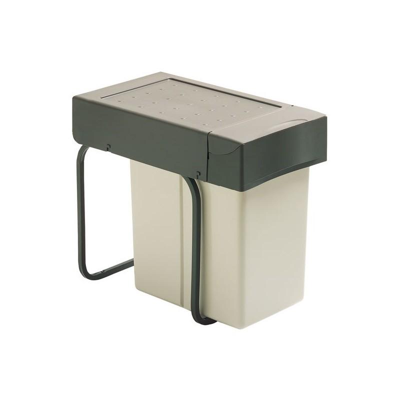 Poubelle sous vier 1 bac 20 litres - Poubelle sous evier coulissante ikea ...