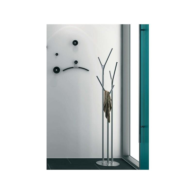 Porte manteaux wishbone inox for Panneaux muraux inox