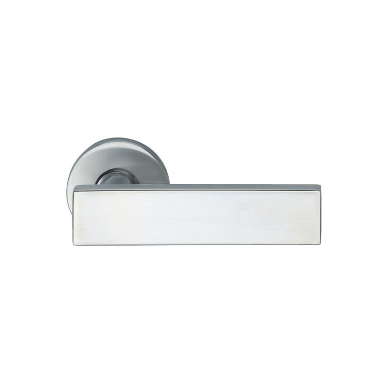 Poign e sur rosace aluminium mod le 1003 - Poignee de porte aluminium ...