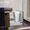 Poubelle salle de bain 7 litres