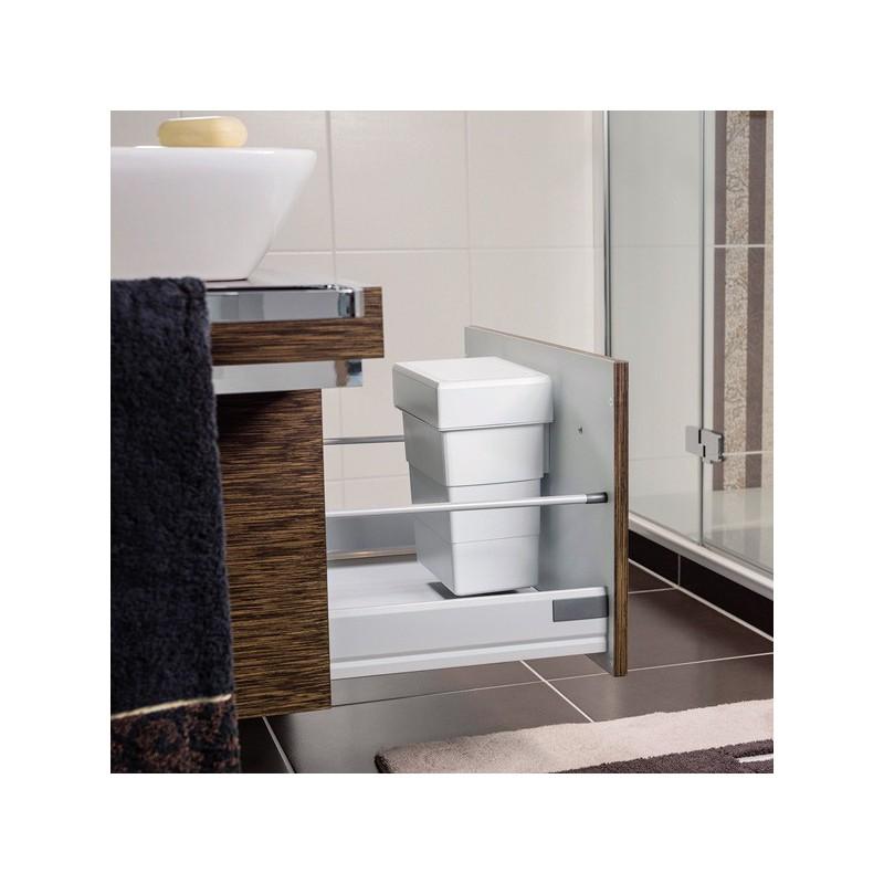 Poubelle salle de bain 7 litres - Poubelle salle de bain bois ...