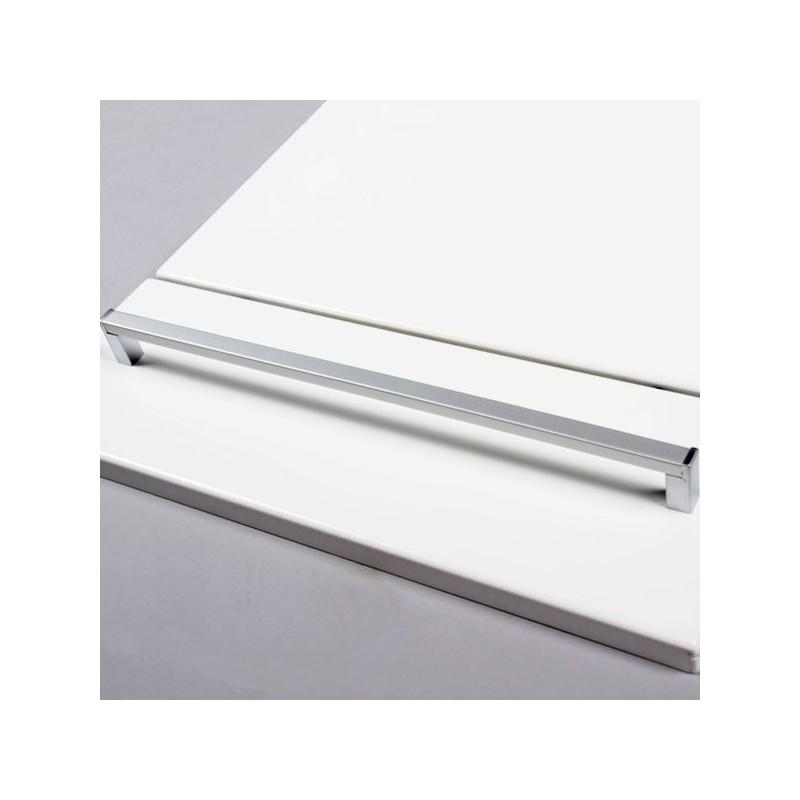 Poign e cuisine aluminium forme rectangle for Forme cuisine moderne