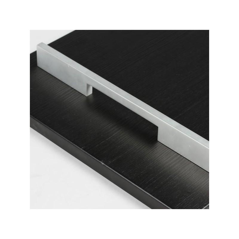 Poign e de meuble aluminium sym trique - Poignee meuble ...