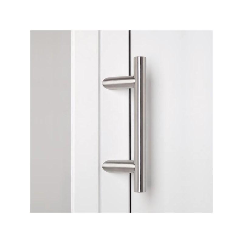 poign e de porte d 39 entr e droite inclin e en inox chez ilovedetails. Black Bedroom Furniture Sets. Home Design Ideas