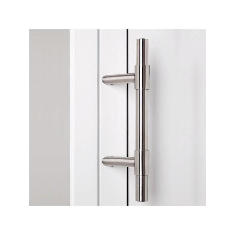 Poign e de porte d 39 entr e entraxe variable chez ilovedetails - Montage porte d entree ...