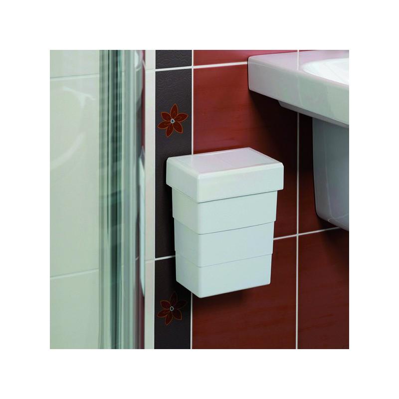 Poubelle salle de bain 7 litres - Poubelle de salle de bain ...