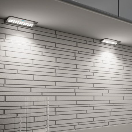 Kit 3 spots LED en applique Smarty