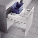 Panier à linge coulissant pour meuble de 600 mm
