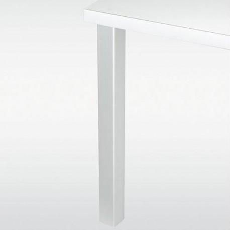 Pied de table carré 60 - hauteur 870 mm
