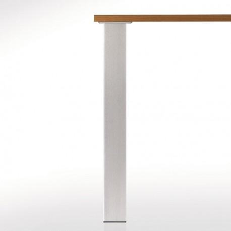 Pied De Table Carre.Pied De Table Carre 80 Hauteur 870 Mm