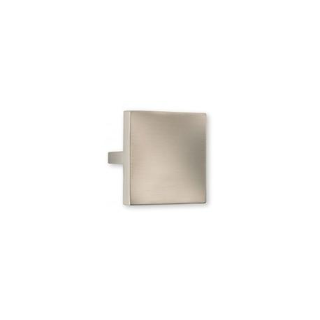 Bouton de meuble carré look inox QUADRI