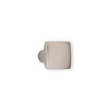 Bouton de meuble look inox carré