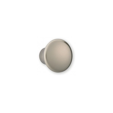 Bouton de meuble look inox forme conique