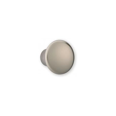 Bouton de meuble look inox forme conique