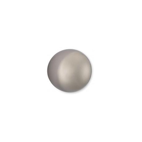 Bouton de meuble forme boule look inox GLOBE