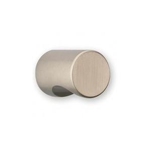 Bouton de meuble cylindrique à encoche inox CYNDO