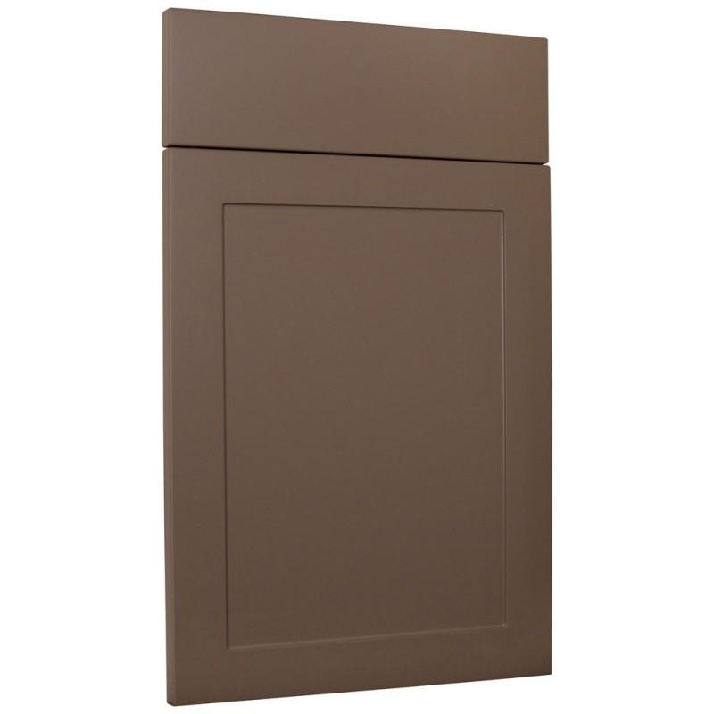 Porte de cuisine schema epure laque - Facade porte cuisine sur mesure ...