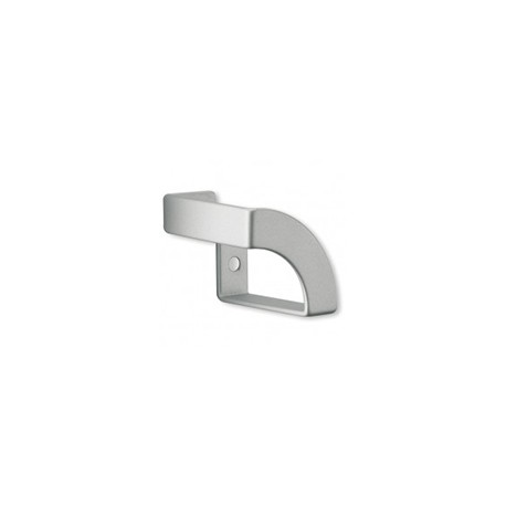 Bouton de meuble look aluminium Angle