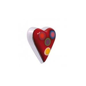 Bouton fantaisie forme coeur