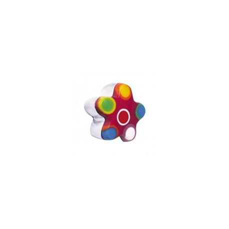 Bouton fantaisie fleur