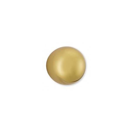 Bouton de meuble forme boule doré GLOBE