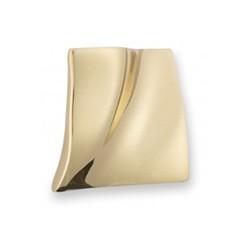 Bouton de meuble laiton Prestige carré