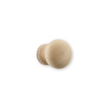 Bouton de meuble bois champignon