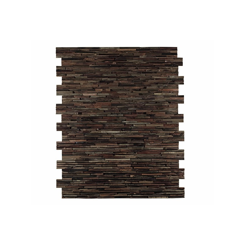 panneau mural d coratif brooklyn en bois naturel de noyer. Black Bedroom Furniture Sets. Home Design Ideas
