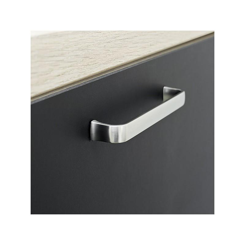 poign e de meuble chrom common. Black Bedroom Furniture Sets. Home Design Ideas