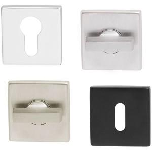 Rosace carrée pour poignée de porte JOY, ESA et PROJECT