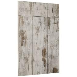 """Porte de cuisine sur-mesure effet bois texturé CLEAF """"planche"""""""