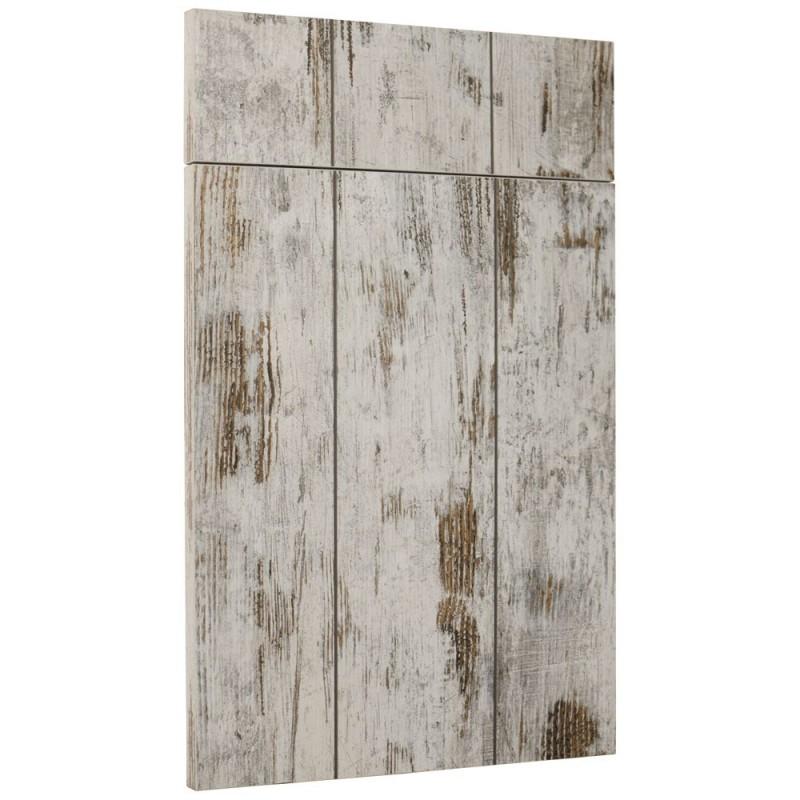 Fa ade de cuisine sur mesure cleaf effet bois textur planche - Facade porte cuisine sur mesure ...