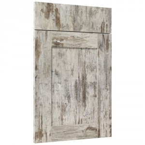 """Porte de cuisine sur-mesure effet bois texturé CLEAF """"cadre"""""""