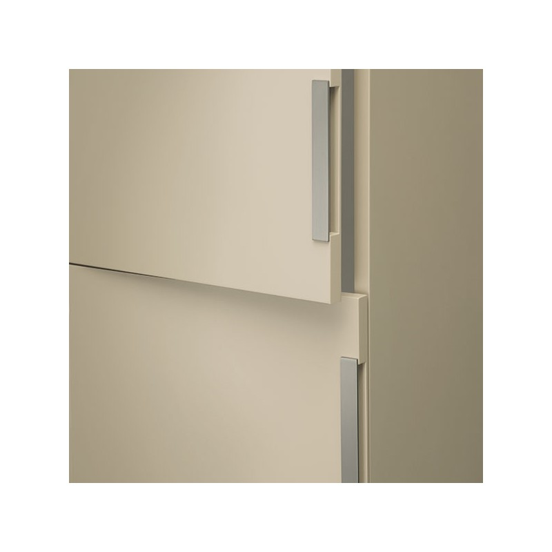 Poign e look inox demi for Panneaux muraux inox