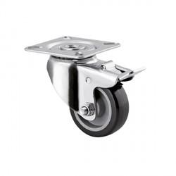 Roulette pivotante diamètre 50
