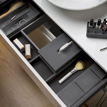 range accessoires pour tiroir de salle de bain. Black Bedroom Furniture Sets. Home Design Ideas