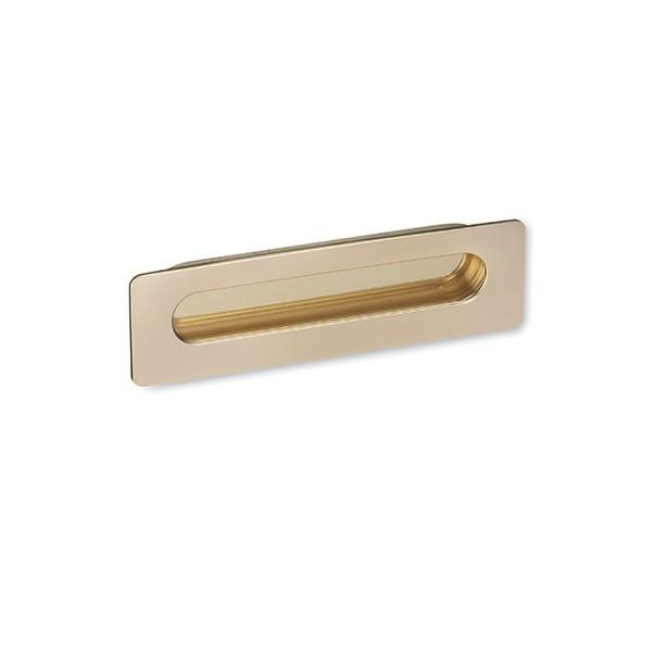 Poignée de meuble cuvette RAPALLO coloris doré