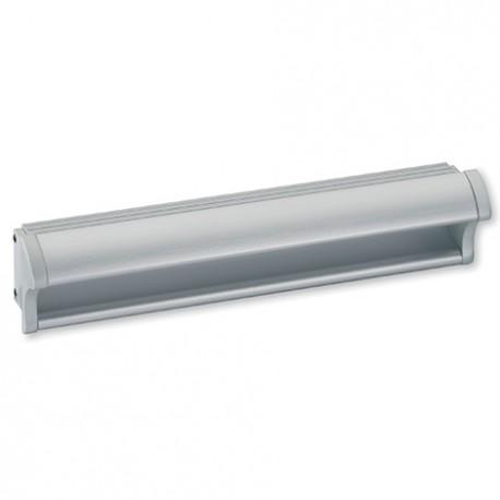 Poignée de meuble à encastrer aluminium