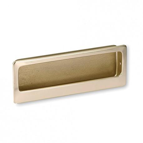 Poignée cuvette style vintage coloris doré RIVIERA