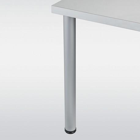 Pied de table aluminium rond hauteur 870 mm