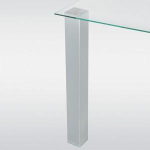 Pied de table forme carré hauteur 710 mm