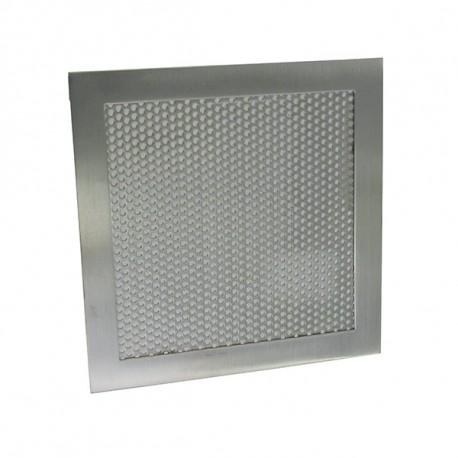 Aérateur carré en applique