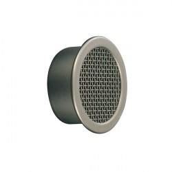 Grille d'aération rond 43 mm à encastrer