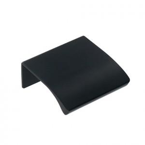 Poignée profil tirette EDGE noire
