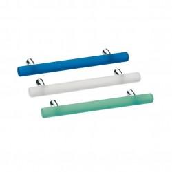 Poignée de meuble bâton effet verre ARTIC couleur ou blanc